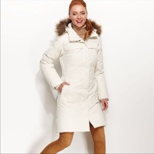 The North Face White Arctic Down Parka II